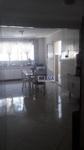 Casa Com 2 Dormitórios À Venda, 70 M² - Jardim Shangai - Campinas/sp - Ca1878