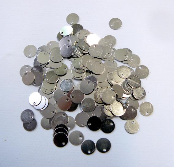 Monedas Níquel Caderines Danzas Diám 8 - X 300 Uni - Ml-811