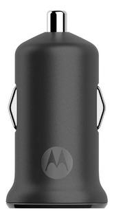 Carregador Veicular Motorola Turbopower Micro Usb 15w Preto