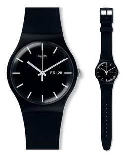 Reloj Swatch Suob720 New Gent Mono Black Agente Oficial