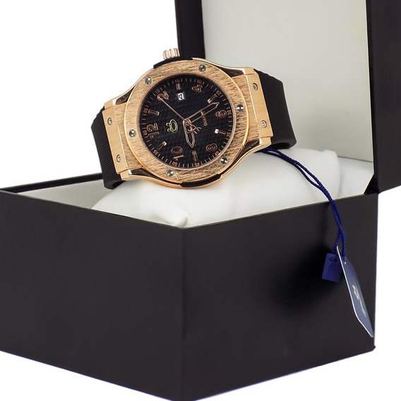 Relógio Masculino Orizom Rose Original Á Prova D