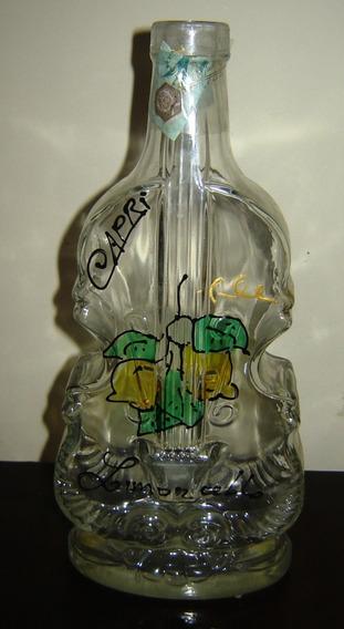 Botella Vacía Capri Original Forma Instrumento Musical