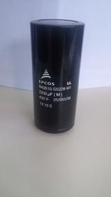 Conjunto De 4 Capacitores Eletrolíticos Epcos 2200uf 450v