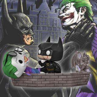 Funko Pop Heroes Batman 80th *moment* Batman Vs The Joker