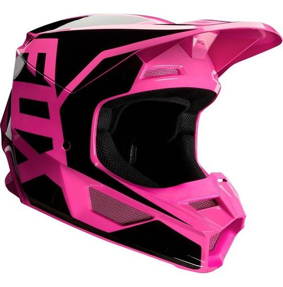 Casco Fox V1 Prix Rosa Motocross 2020 Rzr Enduro Atv Mtb