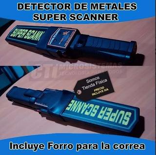 Detector De Metales Super Scanner (portatil) (18102)