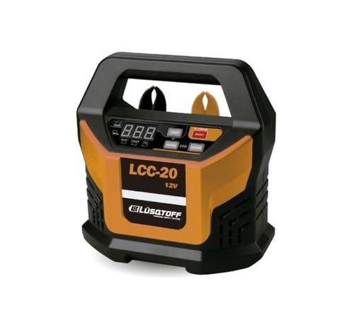 Cargador De Bateria 12v Lcc-20 Lusqtoff 20amp Pantalla Lcd
