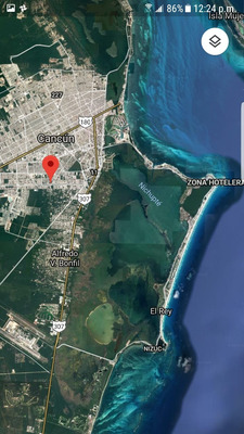 Terreno De Venta En Cancun 1000m2