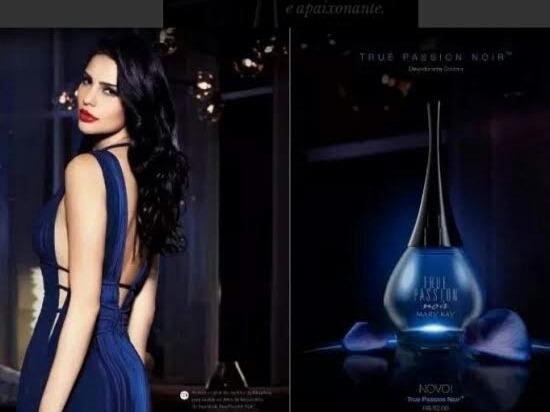 Kit 2 Und Perfume Mary Kay Pink Diamonds+true Passion Noir