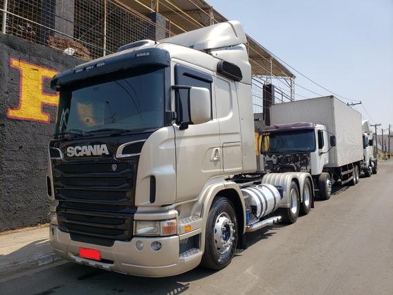 Scania G420 6x2 2011 Prata