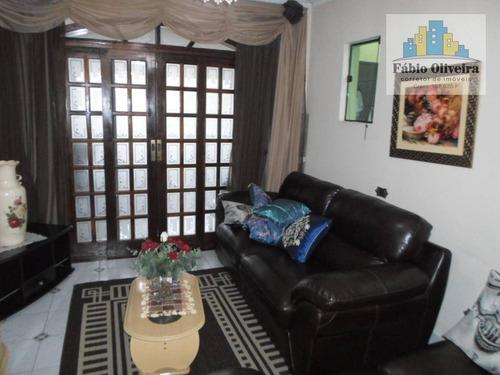 Casa Com 4 Dormitórios À Venda, 125 M² Por R$ 470.000,00 - Jardim Irene - Santo André/sp - Ca0209