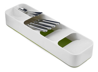 Organizador De Cubiertos Easy Fit Blanco - Rc2631