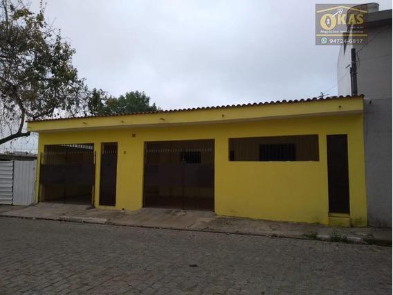 Casa Com 2 Dormitórios À Venda Por R$ 245.000,00 - Vila Urupês - Suzano/sp - Ca0317