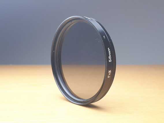 Filtro Polarizador Circular S&k 58 Mm
