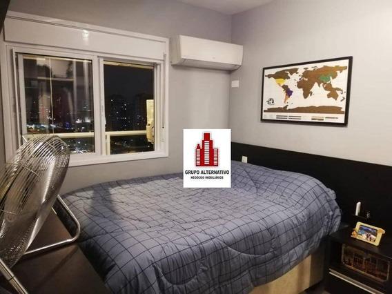 Apartamento Com 1 Dormitório À Venda, 45 M² Por R$ 455.000,00 - Vila Gomes Cardim - São Paulo/sp - Ap1126