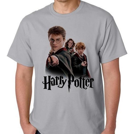 Camiseta Harry Potter Filme Masculino Feminino Camisa Blusa