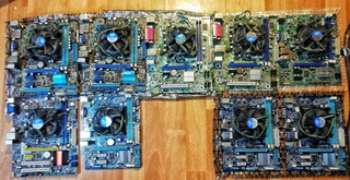 Pack 10 Placas 1155 + Procesadores I5