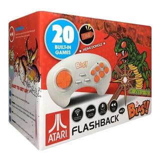 Atari 1 Flashback Blast Mini Consola Portatil 20 Juegos Hdmi
