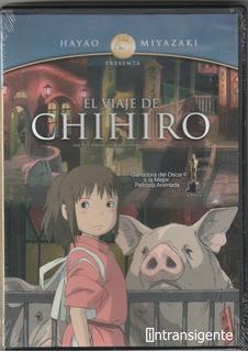 El Viaje De Chihiro - Hayao Miyazaki (pelicula Dvd Nuevo)