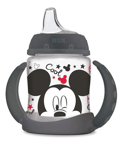 Imagen 1 de 7 de Taza De Aprendizaje Nuk Disney, Con Ca?o De Silicona, Mickey