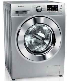 Lavadora E Secadora De Roupas Samsung 11kg, Air Wash E Ecobubble, Prata - Wd11m44530s - 110v