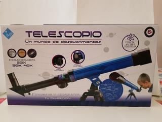 Telescopio El Duende Azul - 3 Niveles De Aumento 20x30x40
