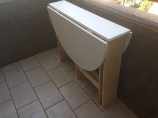 Mesa Plegable, Diseño, Ideal Para Departamentos Pequeños