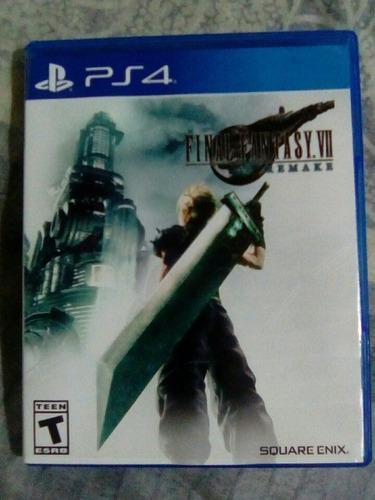Final Fantasy 7 Remake Ps4 Nuevo