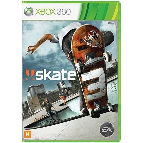 Jogo Skate 3 Xbox 360 Original Português Mídia Fisica