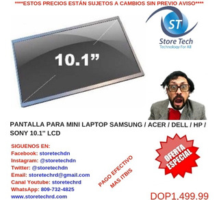 Pantalla Para Mini Laptop Samsung / Acer / Dell / Hp / Sony