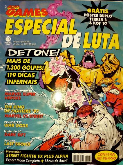 Revista Ação Games Especial De Luta N° 4