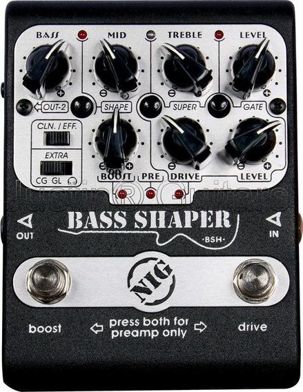 Pedal Nig Bsh - Bass Shaper
