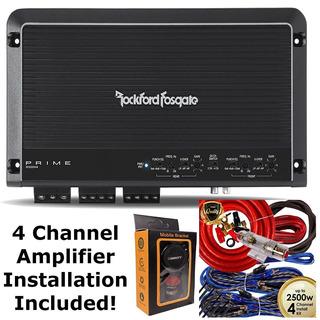 Rockford Fosgate R300x4 Prime Amplificador De 4 Canales + K