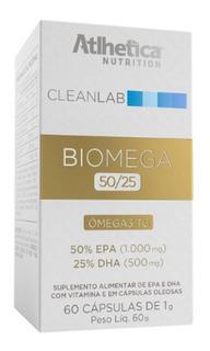 Cleanlab Biomega Tg 50/25 (60 Softgels) Atlhetica