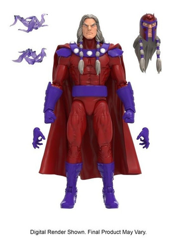 Imagen 1 de 4 de Magneto Colossus Wave Marvel Legends
