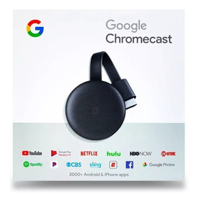 Adaptador Google Smart Tv Chromecast 3 Netflix Youtube Hdmi