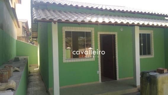Casa Com 2 Dormitórios À Venda Em Bambuí - Maricá/rj - Ca4122