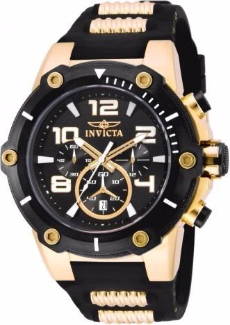 Relógio Invicta 17200 Speedway 52mm Preto/ 100% Original