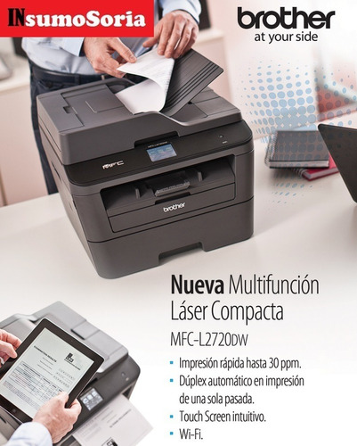 Impresora Multifuncion Brother Mfc L2720 Dw Wifi   Con Envio