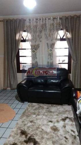 Sobrado Com 3 Dormitórios À Venda, 192 M² - Jardim Jovaia - Guarulhos/sp - Ai1123