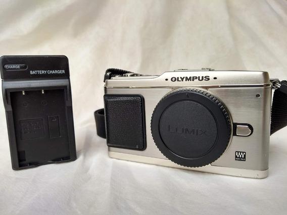 Camera Olympus E-p1 + Lente Computar 50mm 1.3
