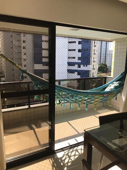 Apartamento Em Parnamirim, Recife/pe De 106m² 2 Quartos À Venda Por R$ 615.000,00 - Ap274511