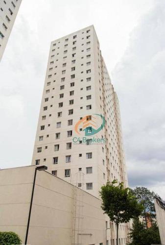 Apartamento À Venda, 50 M² Por R$ 240.000,00 - Centro - Guarulhos/sp - Ap3946