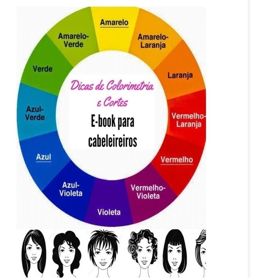 Ebook Para Cabeleireiro - Colorimetria