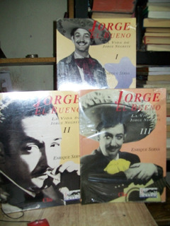 Jorge El Bueno La Vida De Jorge Negrete 3 Tomos Nuevos