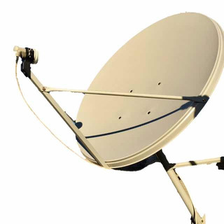 Antena Satelital De 90 Banda Ku + Soporte Lnb + Lnb Simple