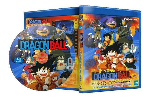 Blu-ray Dragon Ball - Filmes E Especiais Envio Digital