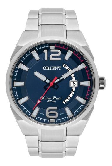 Relógio Orient Masculino Mbss1336 D2sx Azul Aço