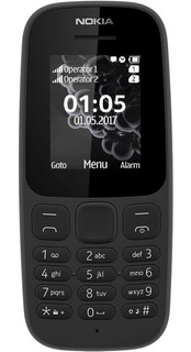 Celular Nokia 105 2017 Linterna Radio