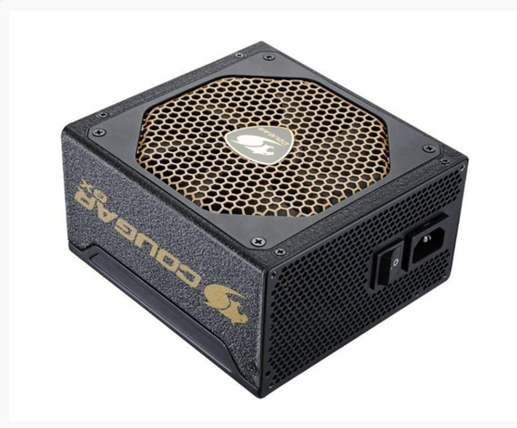 Fonte Cougar Gx Serie Gx600v3 600w Semi Modular 80 Plus Gold